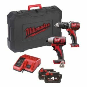 Milwaukee M18 Cordless Drill Twin Pack Review 2015 - 2016