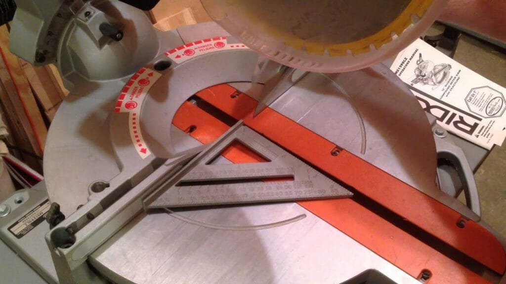 Calibrate Your Mitre Saw