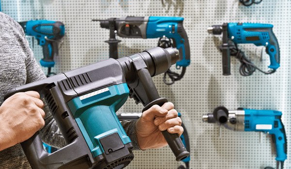 different types of hammer drill